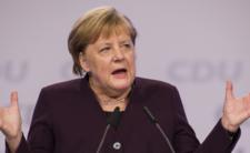 Angela Merkel w Polsce - kierowca SOP miał wypadek przy pracy...