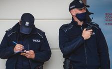 COVID-19: Policja wystawia mandaty za brak maseczek