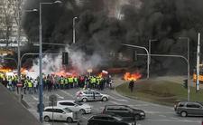 """Poprzedni protest rolników w Warszawie skończył się """"zadymą"""""""