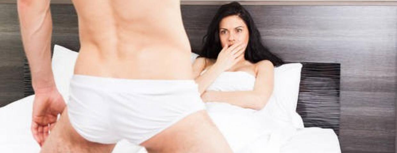zła erekcja i niepłodność