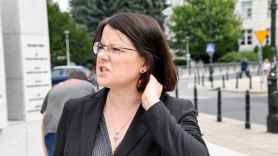 Kaja Godek czuje się zagrożona strajkiem kobiet