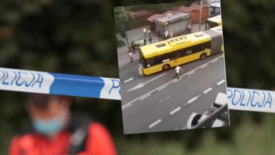 Śmierć 19-latki w Katowicach. Nagranie WIDEO miejsca wypadku