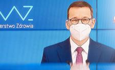 Konferencja Mateusza Morawieckiego. Premier  ogłasza sukces w walce z pandemią i zapowiada sukces w walce z pandemią