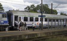 Koronawirus w pociągu