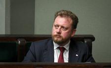 Łukasz Szumowski podczas posiedzenia sejmu