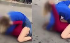 Ostra walka z szkole - dziewczyny tłukły się jak wściekłe