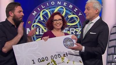 Milionerzy - padło pytanie za milion. Katarzyna Kant-Wysocka znała odpowiedź