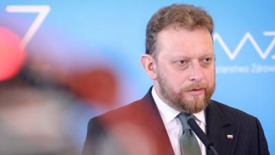 Minister Zdrowia Łukasz Szumowski - nowe informacje o epidemii w Polsce