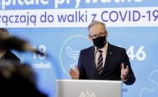 Wojsko wkracza do szpitali - konferencja Ministerstwa Zdrowia