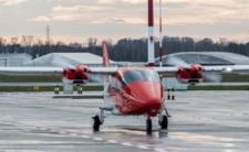 Wypadek samolotu pod Mińskiem mazowieckim. Maszyna stanęła w płomieniach