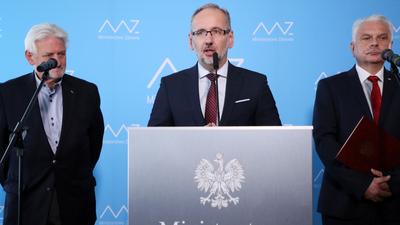 Nowe strefy czerwone i żółte w Polsce