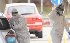 Pandemia: Liczba zakażeń