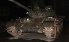 Pijany 49-latek wsiadł do czołgu i ruszył na miasto. Absurd pod Łodzią