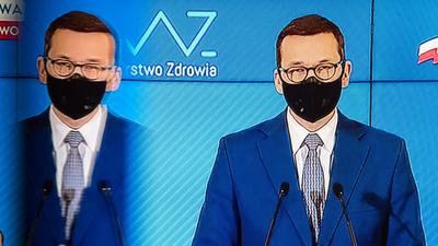 Konferencja: Premier Mateusz Morawiecki