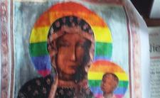 Matka Boska Częstochowska w wersji LGBT - skandal religijny w Płocku