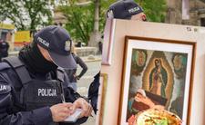 Policja aresztowała Matkę Boską. W pizzerii