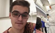 Polski student z podejrzeniem koronawirusa. Nagrał film z izolatki