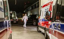 Śmierć w szpitalu - chory opuścił szpital przez okno i zmarł