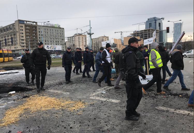 Protest rolników w Wraszawie 6