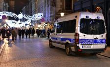 Sylwester: Policja na ulicach