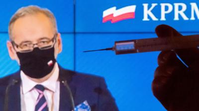 Program szczepienia w Polsce leży? Pfizer przysłał mniej dawek szczepionki