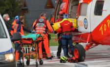 Akcja ratunkowa TOPR w Tatrach. Turysta spadł z Rysów