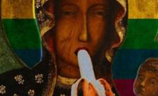 Matka Boska Częstochowska z bananem i tęczową aureolą - sprawą ma zająć się prokuratura