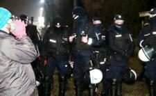 Pod willą Kaczyńskiego pojawiły się tłumy policjantów
