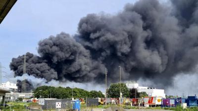 Wybuch w zakładach chemicznych w Niemczech. IMGw ostrzega przed toksyczną chmurą w Polsce