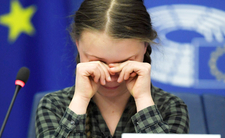 TVP sięgnąła dna totalnego. Porównali Gretę Thunberg do... Hitlera