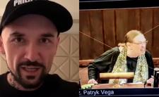 Vega zobrazował Krystynę Pawłowicz w nowym filmie. Jest ostro