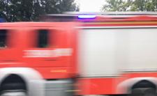 Pożar w Warszawie! Straż pożarna walczy z ogniem na Powiślu