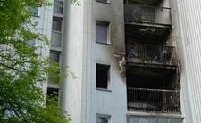 Wielki pożar w Warszawie. Wyskoczył z okna, bo chciał uciec przed ogniem
