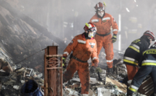 Wybuch w Szczyrku, budynek zmienił się w gruzowisko