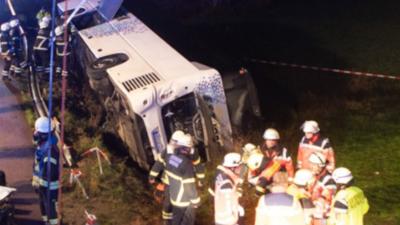 Wypadek polskiego autokaru w Niemczech - nowe informacje