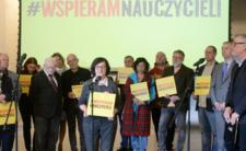 Ogłoszenie funduszu strajkowego w Centrum Nauki Kopernik