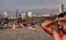 Wybuch w Bejrucie. Miasto zrównane z ziemią