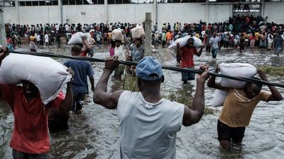 Cyklon Idai uderzył w Mozambik - rośnie liczba ofiar