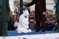 Publiczna chłosta kobiety. Tłum był zachwycony