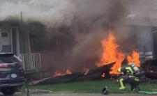 Katastrofa samolotu - wspierali służbę zdrowia, doszło do tragedii
