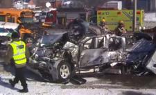 Karambol z koszmaru. 200 aut zniszczonych, rannych dziesiątki osób