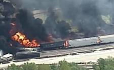 Ogień w Dupo - czy katastrofa kolejowa to zagrożenie dla miasta?