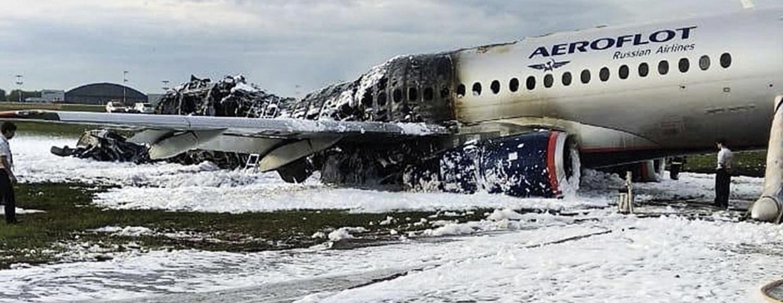 Katastrofa samolotu w Moskwie