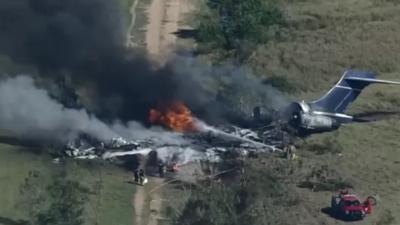 Katastrofa lotnicza w USA. Wszyscy uciekli z piekła