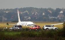 Katastrofa lotnicza zabrałby im życie. Maszyna zderzyła się z ptakami