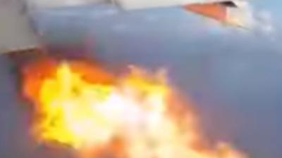 Katastrofa lotnicza zawisła w powietrzu. Samolot płonął w locie