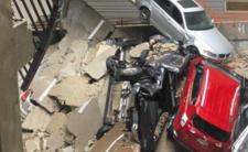 Katastrofa w Dallas - dźwig budowlany zniszczył budynek mieszkalny