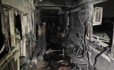 Tragiczny pożar w szpitalu covidowym