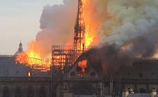 Katedra Notre Dame spłonęła w poniedziałek