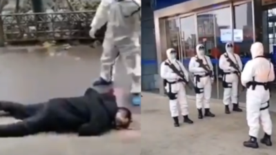 Masakra w Chinach - nagrania jak z horroru
